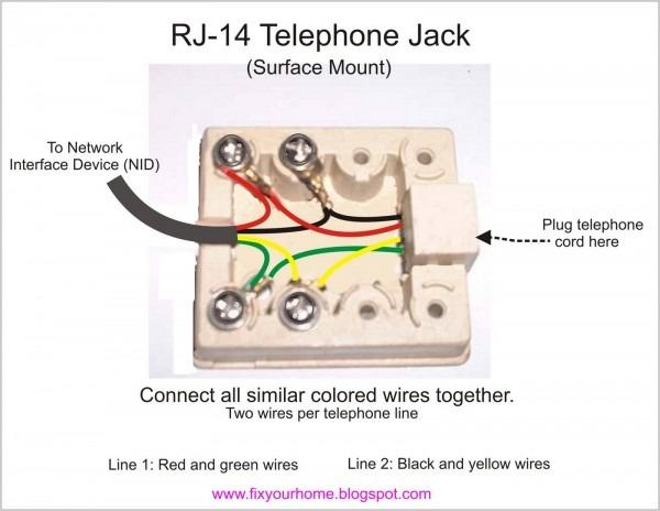 Basic Wiring Home Telephone