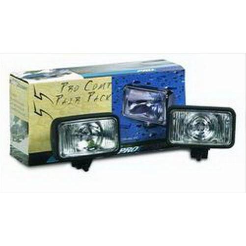 Pro Comp Lighting 55w Rectangular Clear Lens 9200