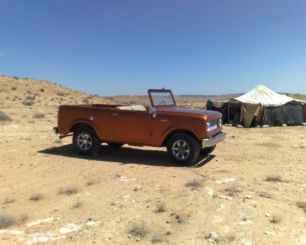 Scout 80 Libya Parts