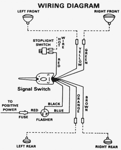 Signal Stat 900 Turn Wiring Diagram Universal Switch With For