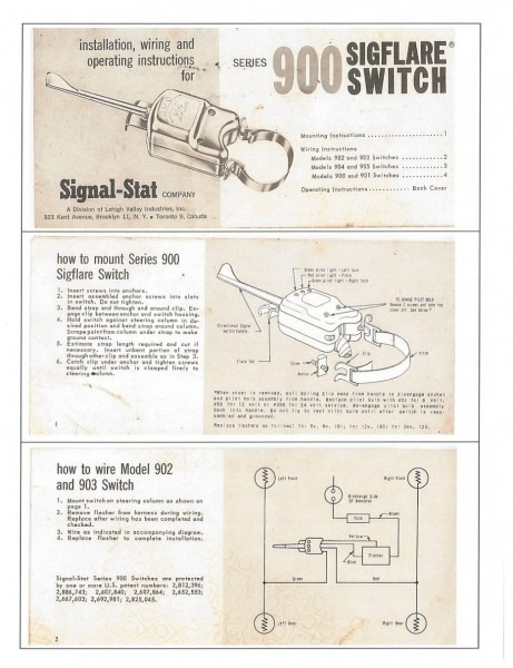 Signal Stat 900 Wiring Diagram For The Throughout Prepossessing At