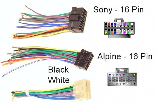 Audio Wire Diagram Harness 16 Pin Color