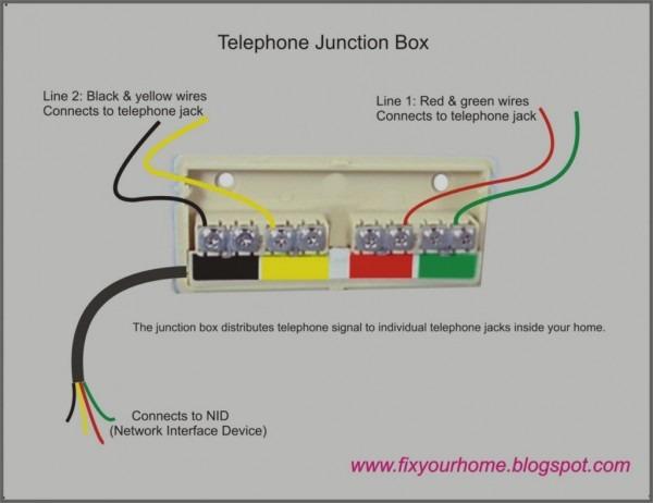 Telephone Jack Wiring Diagram