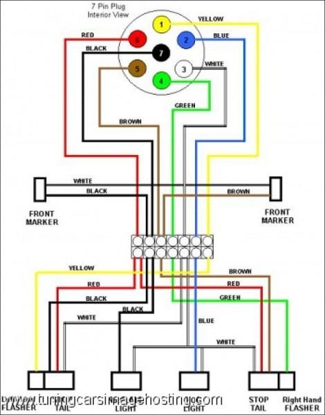 Trailer Wiring Diagrams 7 Way