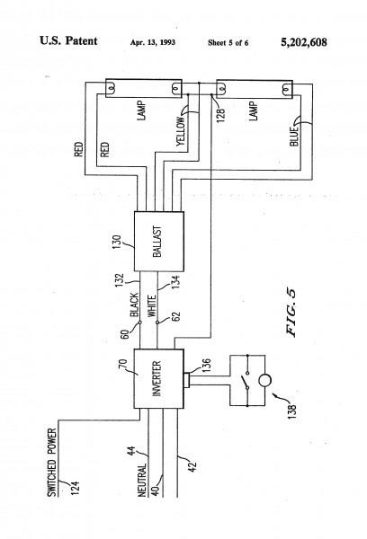 4 Bulb Flourescent Light Wiring Diagram