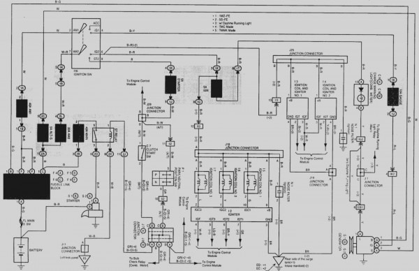 Wiring Diagram 1999 Camry