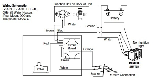 Gas Water Heater Wiring Diagram
