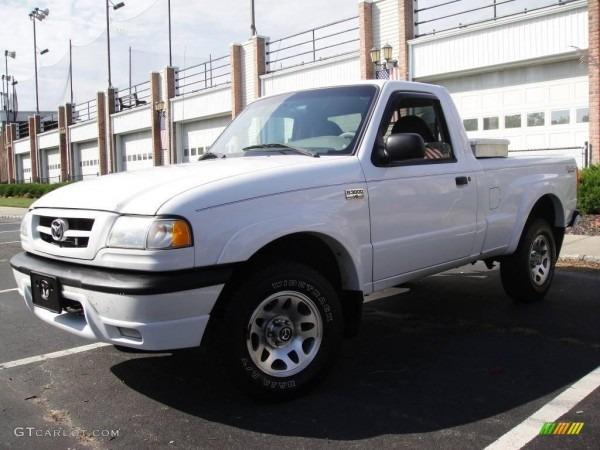 White Mazda B