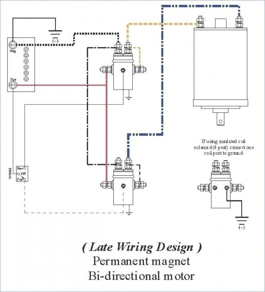 With 2 Solenoids Winch Wiring Diagram Honda Rancher 420 Fuse Box For Wiring Diagram Schematics