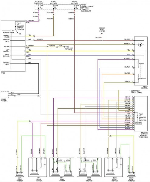 E46 Wiring Diagram