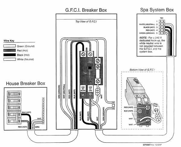 Wiring Diagram For Hot Tubs