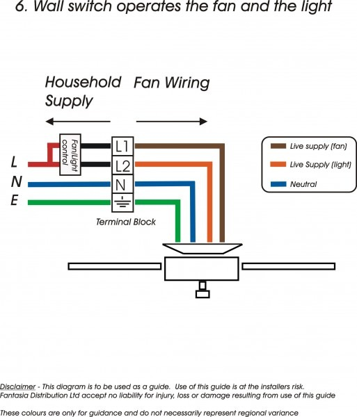 Bahama Ceiling Fan Wiring Diagram