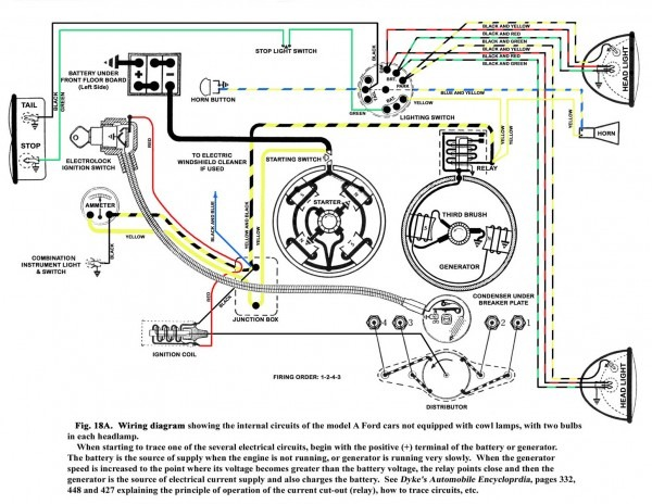 Model A Wiring Diagram – Capitol A's