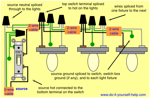 Wiring Diagram Lights