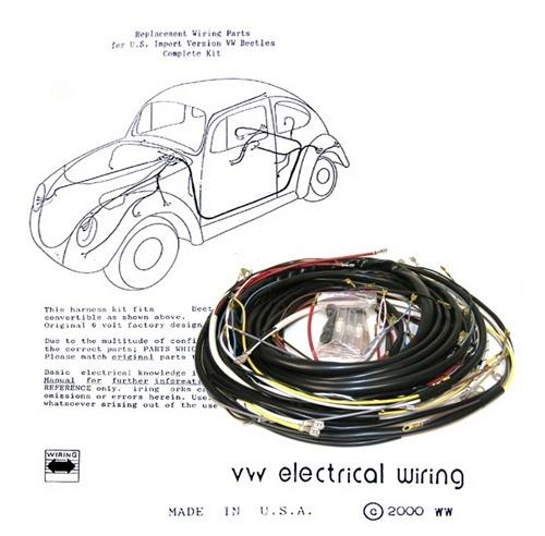 1974 Vw Bug Wiring Harness