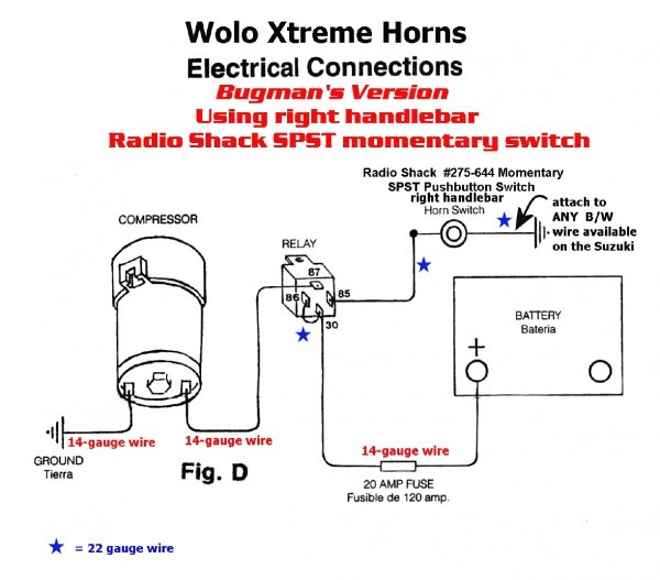 wolo air horn wiring diagram wolo train horn wiring diagram