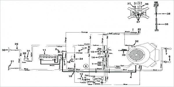 Belt Diagram For Mtd Riding Mower