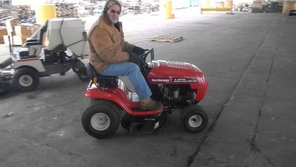 Lawn Mower ~ Incredible Yard Machines Inch Riding Lawn Mower Mtd