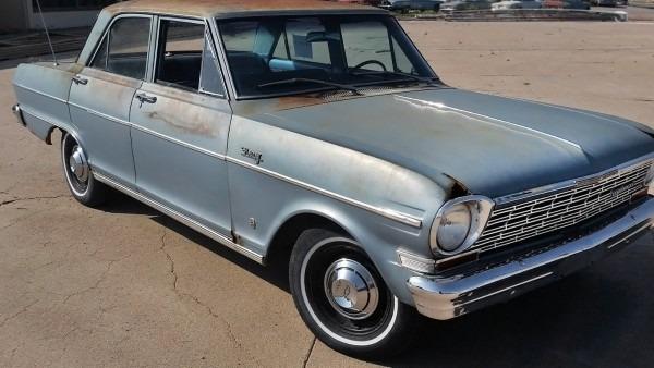 Sedate Sedan  1964 Chevrolet Chevy Ii Nova 400