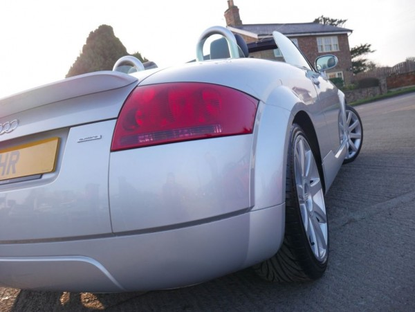 2003 Audi Tt Roadster Quattro £5,995