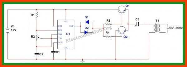 Dc To Ac Power Inverter Schematic