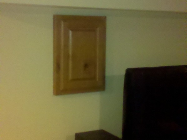 Hand Crafted Cabinet Door To Cover Access (i E  Breaker Box
