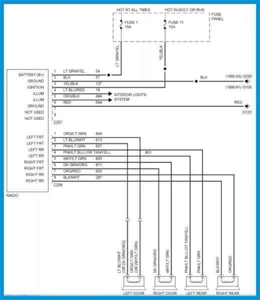 1994 Ford Explorer Radio Wiring Diagram from www.tankbig.com
