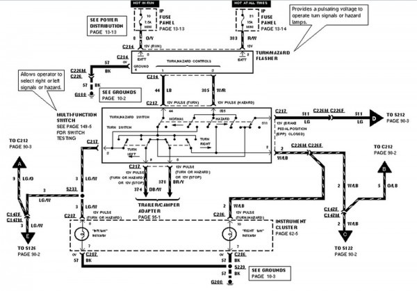 Headlight Switch Wiring Diagram 98 Ranger