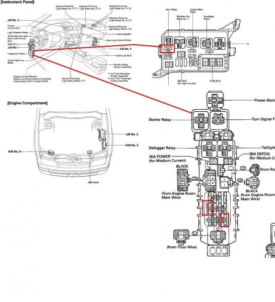 2006 Toyota Corolla Fuse Box Diagram