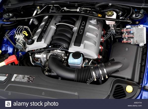2006 Pontiac Gto In Blue