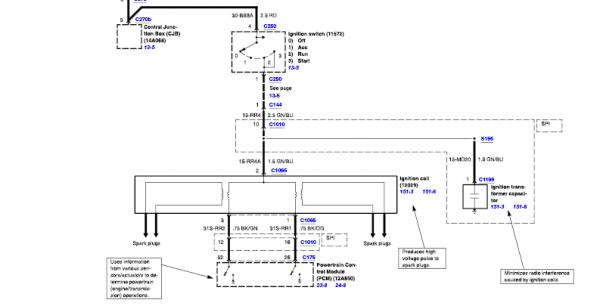 Coil Wiring Diagram 2000