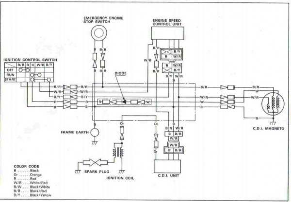 Yfm80 Wiring Diagram