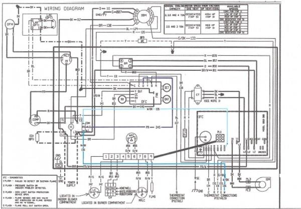 Rheem Furnace Wiring Schematic