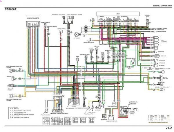 Honda Cb 1000 Wiring Diagram