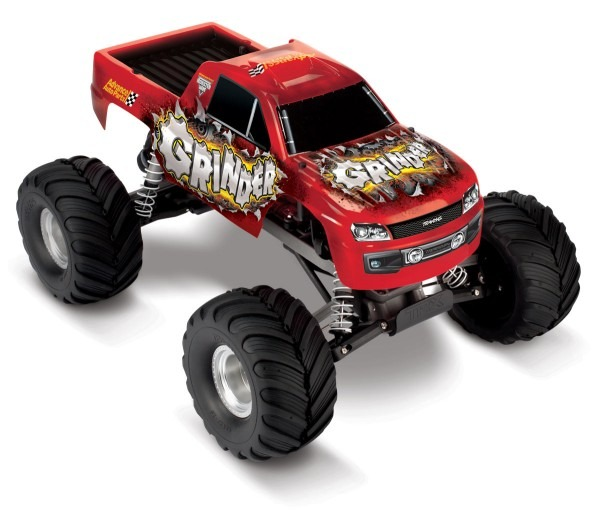 The Enigma Behind Traxxas Grinder Advance Auto 2wd Monster Truck