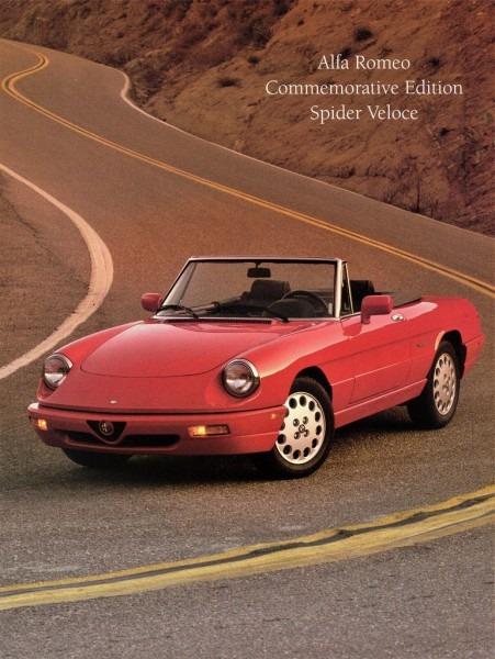 1994 Alfa Romeo Commemorative Edition Spider Veloce
