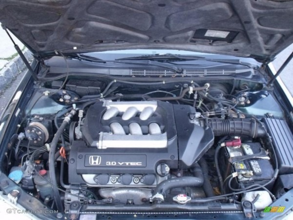 2000 Honda Accord Ex Sedan 2 3l Sohc 16v Vtec 4 Cylinder Engine