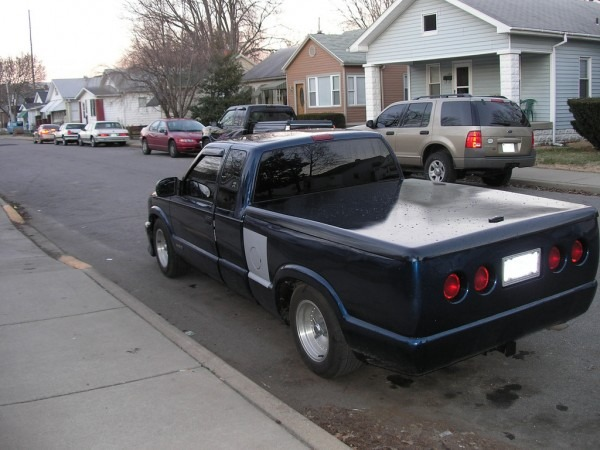 1999 Chevy S10 Extended Cab Custom Corvette Taillights