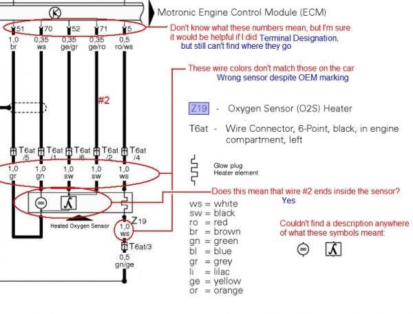 5 Wire Oxygen Sensor Wiring Diagram