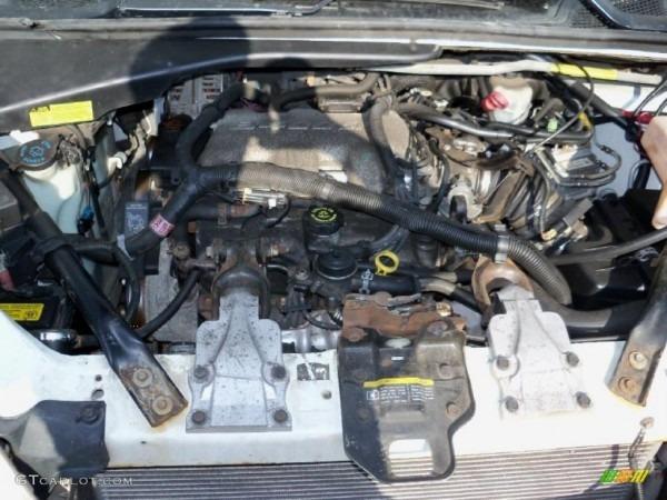 2001 Chevrolet Venture Ls 3 4 Liter Ohv 12