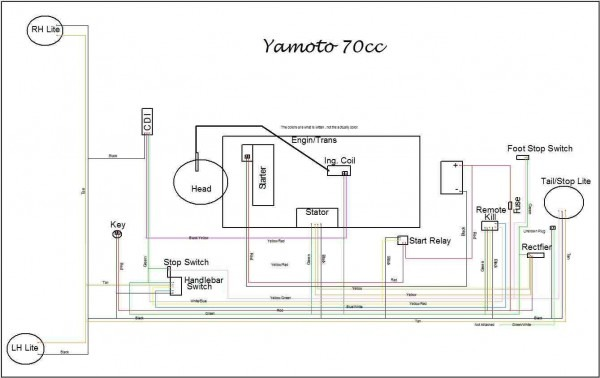 Yamoto 70cc Wiring Diagram Posted Below