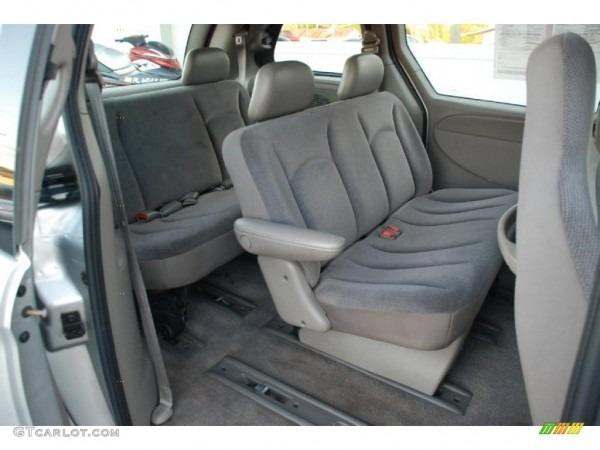 2001 Chrysler Voyager Standard Voyager Model Interior Photo