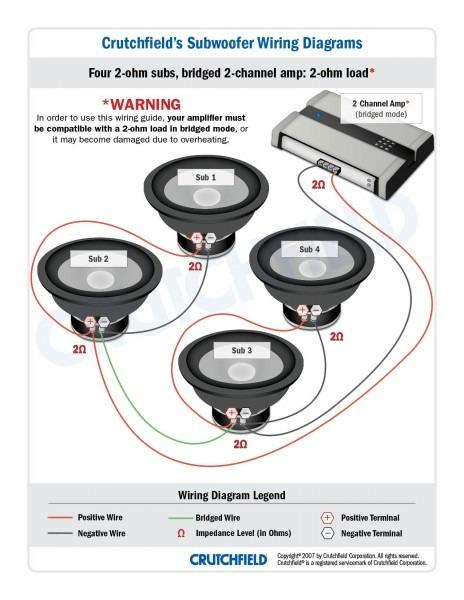 8ohm Sub Wiring Diagram