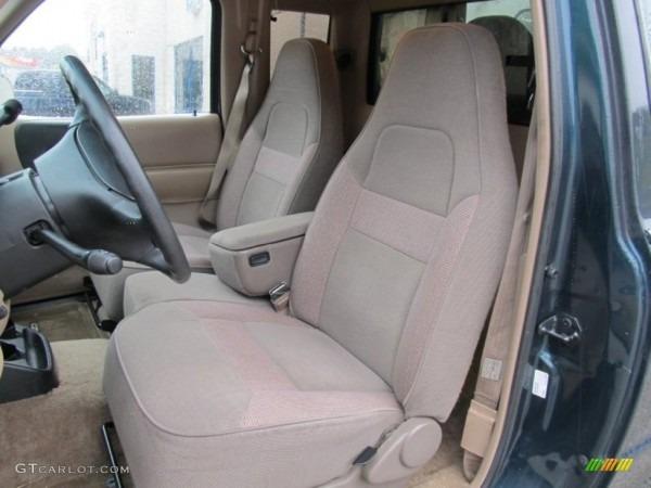 Gray Interior 1997 Mazda B