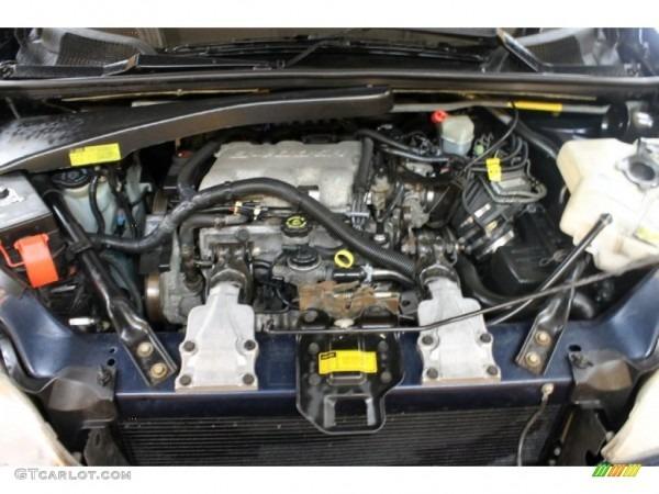 2001 Chevrolet Venture Standard Venture Model Engine Photos