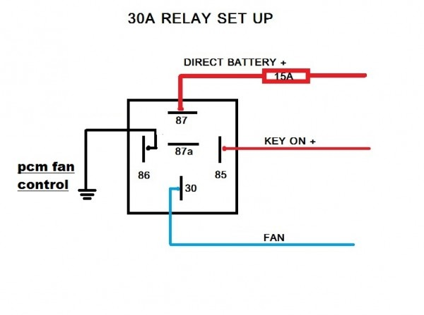 Fan Relay Wiring Diagram
