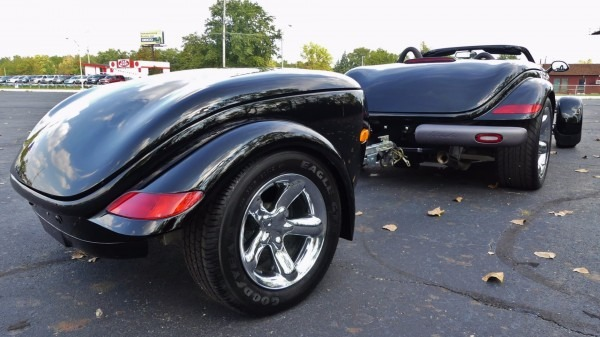 1999 Plymouth Prowler With Trailer Stock   503363