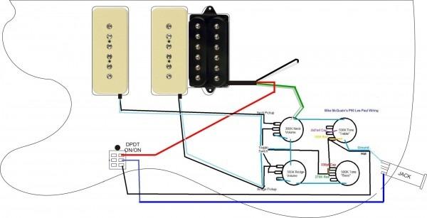 P90 Pickup Wiring Diagram