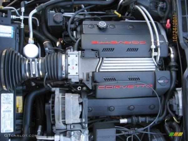 1996 Chevrolet Corvette Coupe 5 7 Liter Ohv 16 - Car ...