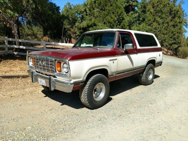 Hemmings Find Of The Day – 1978 Dodge Ramcharger 4&
